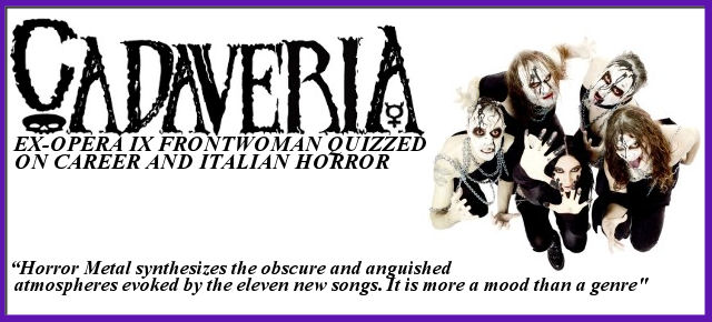 Cadaveria - Interview