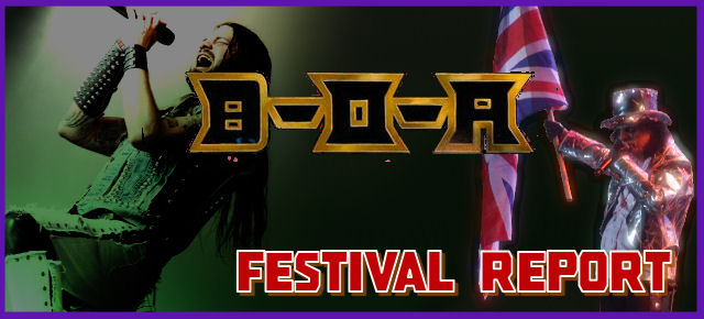 Bloodstock Open Air Festival - Catton Hall, Derbyshire Thursday 9th August