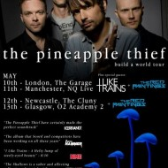 The Pineapple Thief, I Like Trains and The Red Paintings - London Garage 10/5/13