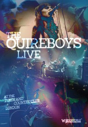 the quireboys live at the town country club london wienerworld ave noctum. Black Bedroom Furniture Sets. Home Design Ideas