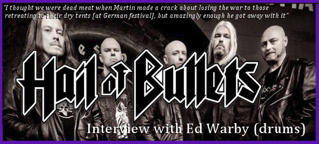 Interview - Hail Of Bullets