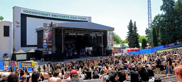 Czech Metal Fest - Plzen, Amfitéatr Lochotin 5th June 2015
