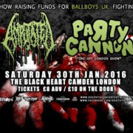 Preview - Death to Cancer Fest – London Black Heart 30/1/2016