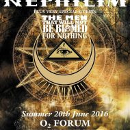 Fields Of The Nephilim & The Men That Will Not Be Blamed For Nothing – London Forum 20/6/16
