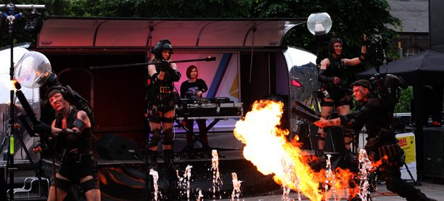 Mutoid Waste Company – Punkx – London Granary Square 4/6/16