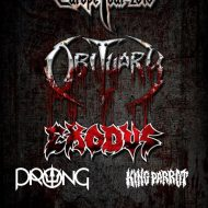 Obituary, Exodus, Prong – London Electric Ballroom 25/10/16