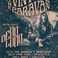 Vintage Caravan, Dead Lord, Landskap – London The Underworld,13/11/2016