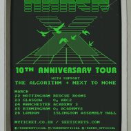 Haken, The Algorithm and Next to None – London Islington Assembly Hall 26/3/17