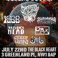 Stone Frequency All Dayer - The Black Heart, London - 22/7/17