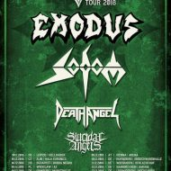 Exodus, Sodom, Death Angel - London Electric Ballroom 6/12/18
